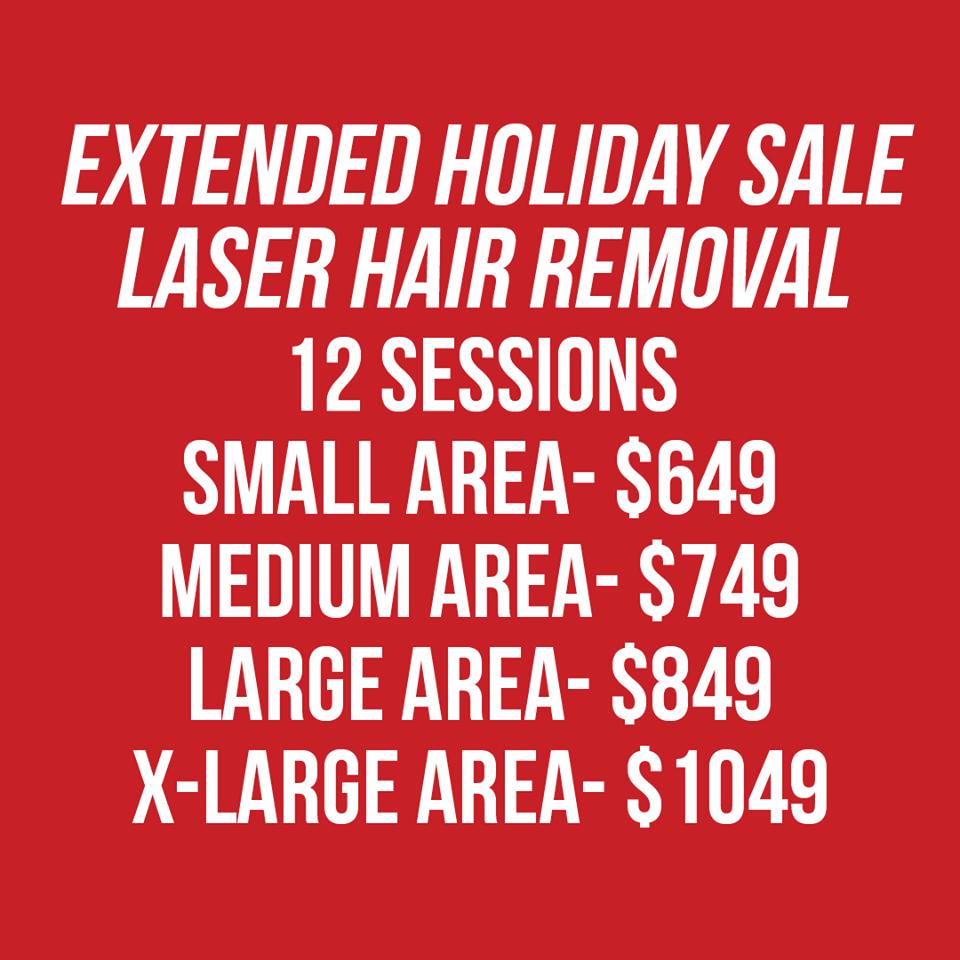 Lasar Hair Removal Sale